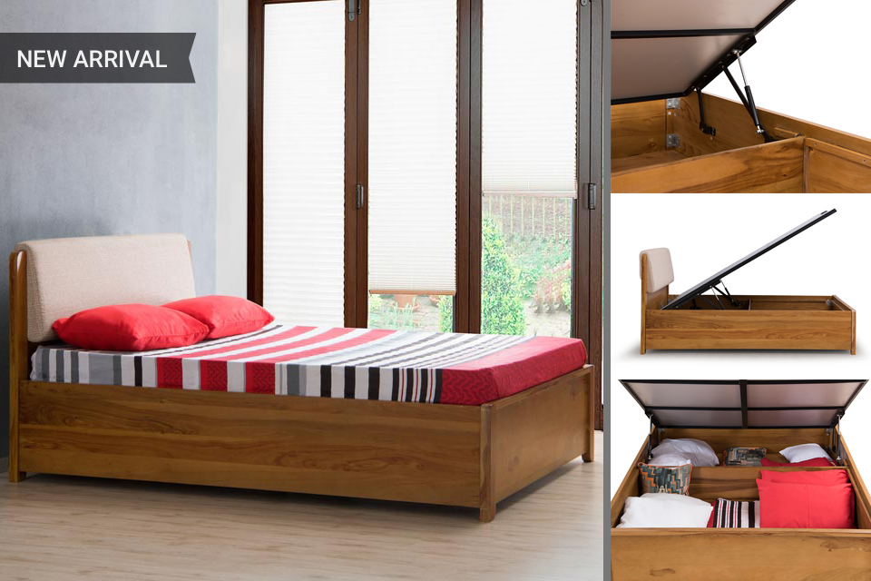Vitello Storage Bed - Basic